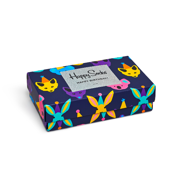 Giftbox (3-pak) skarpetki Happy Socks XBDA08-9000